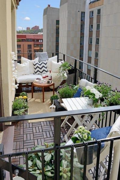 Consejos sobre cómo limpiar tu balcón