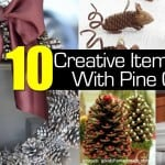10 Creative Items Made With Pine Cones