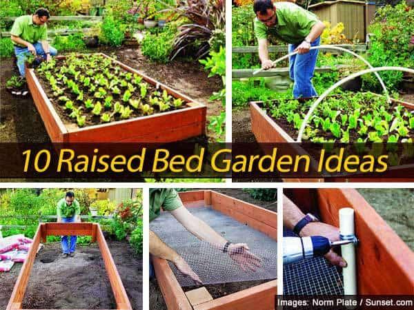 10 raised bed garden ideas for Raised garden bed ideas