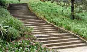 Garden Steps Pathways In Landscape Garden Design