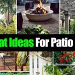 16 Great Ideas For Patio Pizzazz