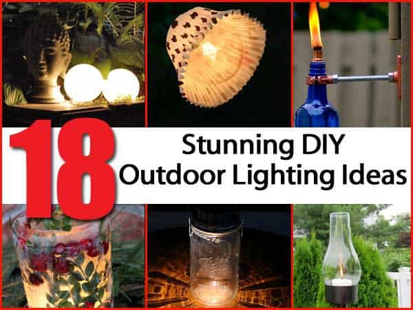 18 eye catching diy outdoor lighting ideas 18 eye catching diy outdoor lighting ideas aloadofball Gallery