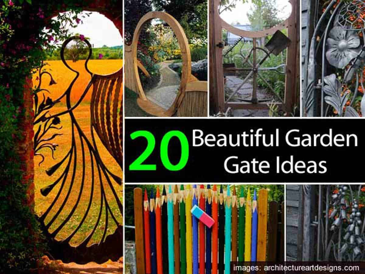 Garden Gate Ideas garden gate ideas Garden Gate Ideas 053114
