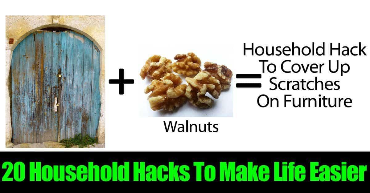20 household hacks to make life easier for Household hacks