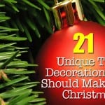 21 Unique Christmas Tree Decorations You Should Make This Year