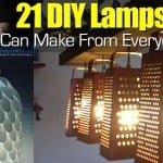 21 DIY Lamps You Can Make From Everyday Items