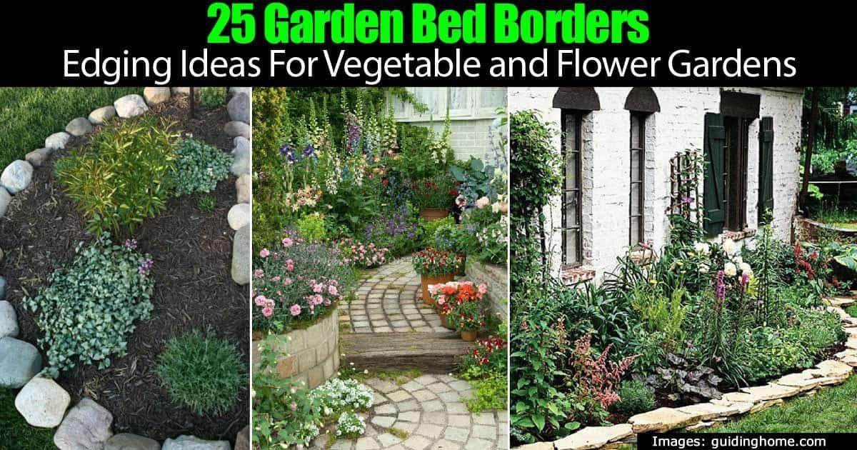 Garden Edging Ideas lawn edging ideas 1 25 Landscaping Border Ideas For Garden Edging
