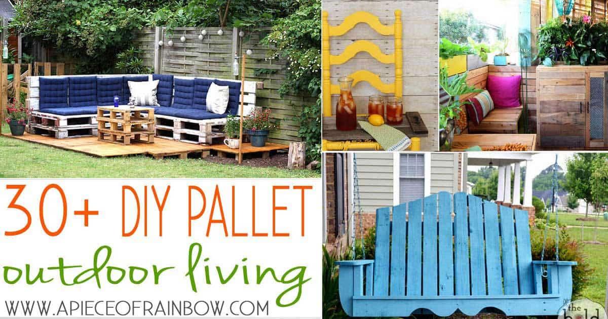 Charmant 30+ DIY Backyard Pallet Projects For Living U201cAlfrescou201d