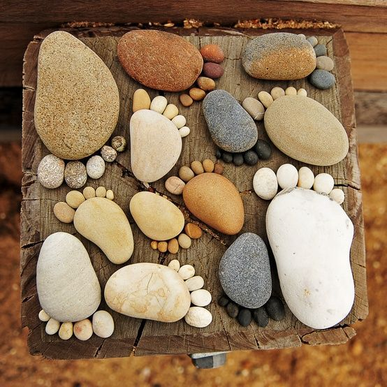unique ideas for garden stepping stones - Decorative Stepping Stones