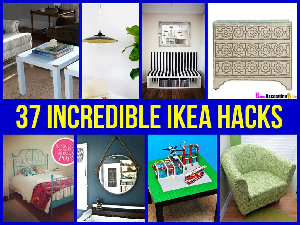 37 incredible ikea hacks. Black Bedroom Furniture Sets. Home Design Ideas