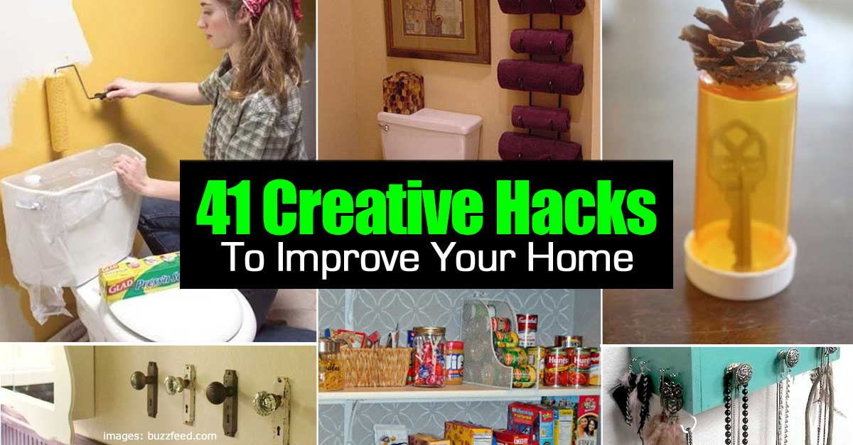 41 creative hacks to improve your home - Plants can improve ambience home ...