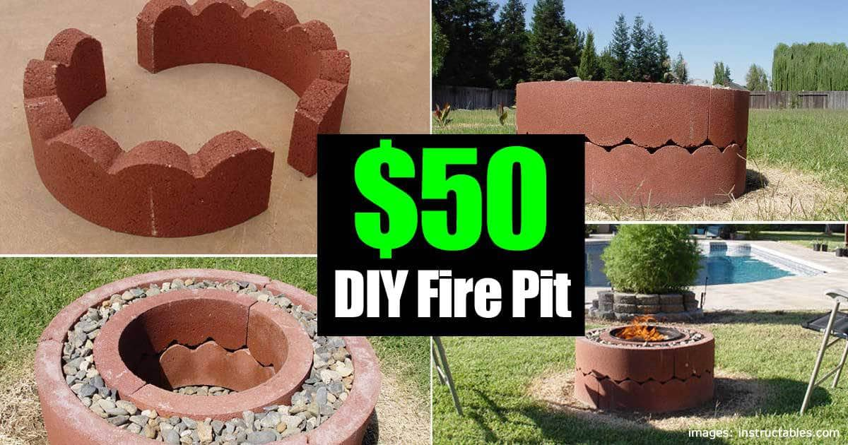 diy pit for 50 50 dollar pit diy and movable