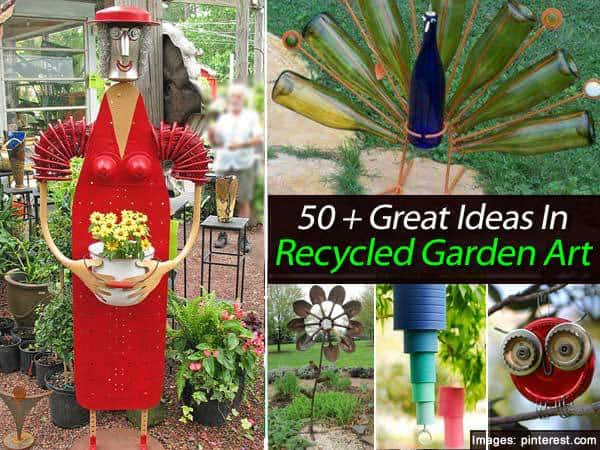 Art From Recycled Materials Ideas The