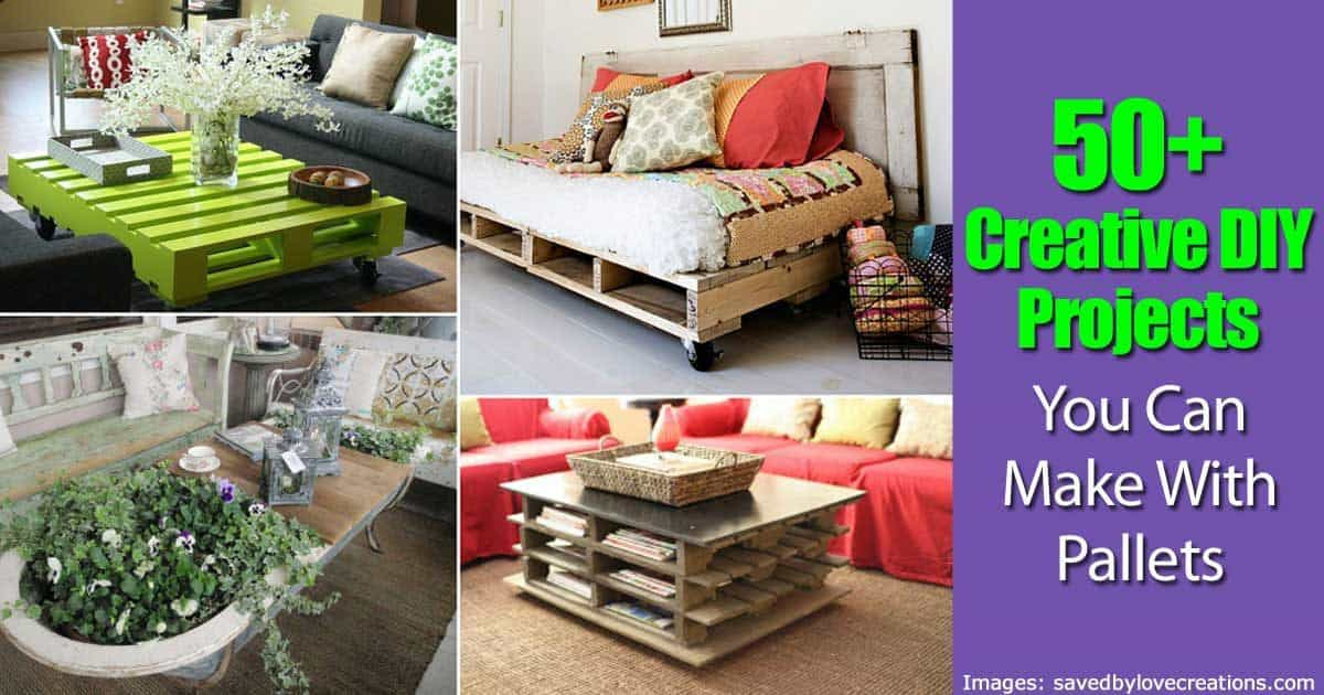 50 Creative Diy Projects You Can Make With Pallets