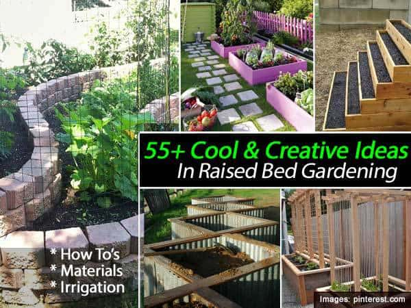 55 Cool Amp Creative Ideas In Raised Bed Gardening