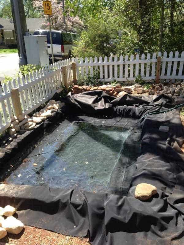 This Front Yard Got A Make Over That Included a Pond! on Front Yard Pond id=63060