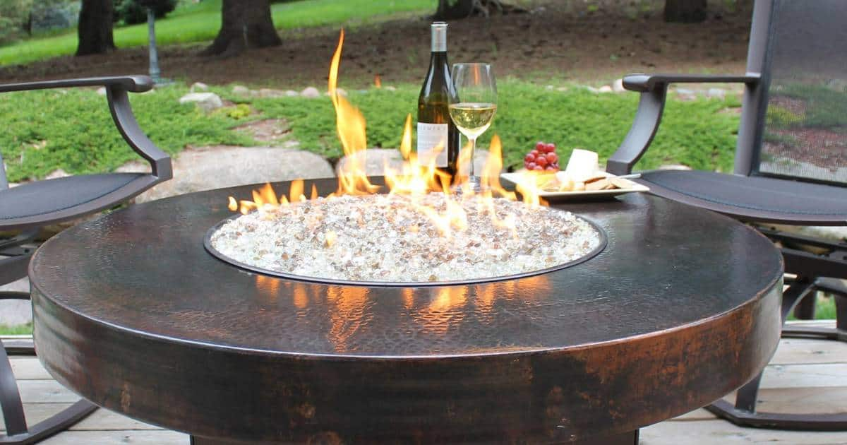 Best Fire Glass Fire Pit