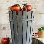 How To Make A Cool Bushel Basket Using Paint Sticks