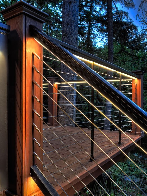 27 outdoor step lighting ideas that will amaze you for Garden decking lights uk