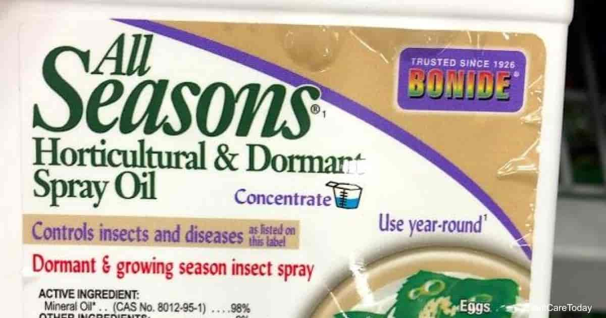 Dormant Oil Pesticide label