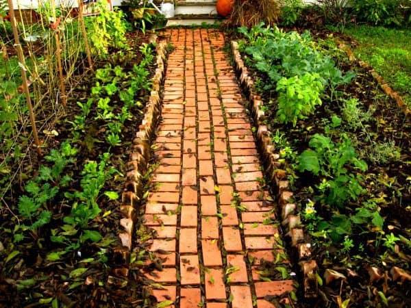 Excelentes formas de crear una pasarela en el jardín.