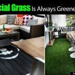 Artificial Grass Always Greener On A Patio Or Deck