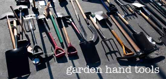 Assorted Garden Hand And Cultivation Tools