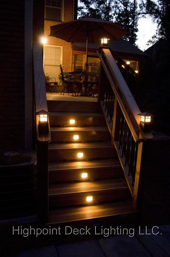 27 outdoor step lighting ideas that will amaze you source hpdlighting aloadofball Image collections