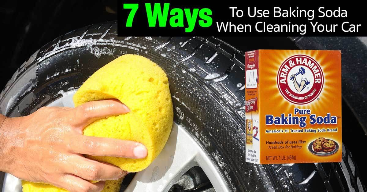 7 ways to use baking soda when cleaning your car. Black Bedroom Furniture Sets. Home Design Ideas