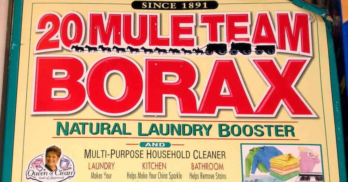 old picture of borax uses
