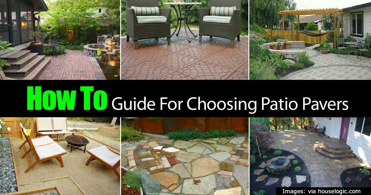 Patio Pavers: How To Create A Beautiful Patio With Pavers