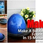 How To Make A Bubbling Fountain in 15 Minutes