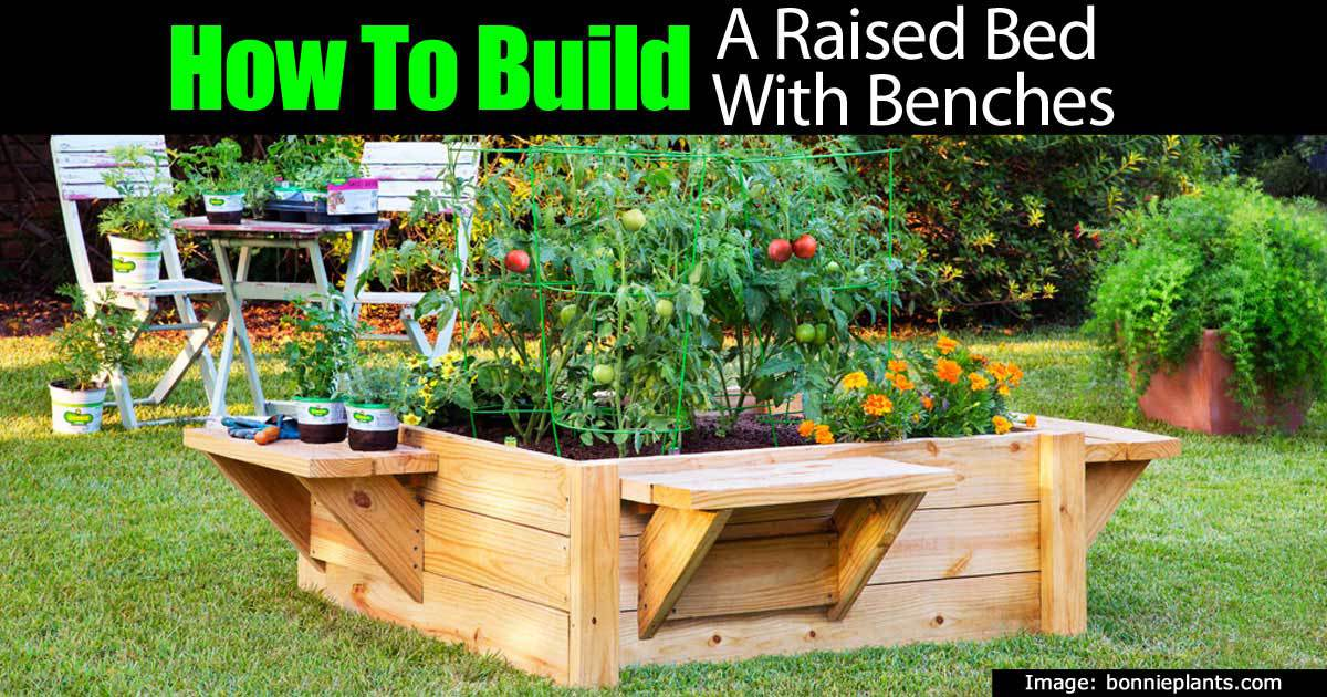 Making Elevated Raised Garden Beds Plans Video