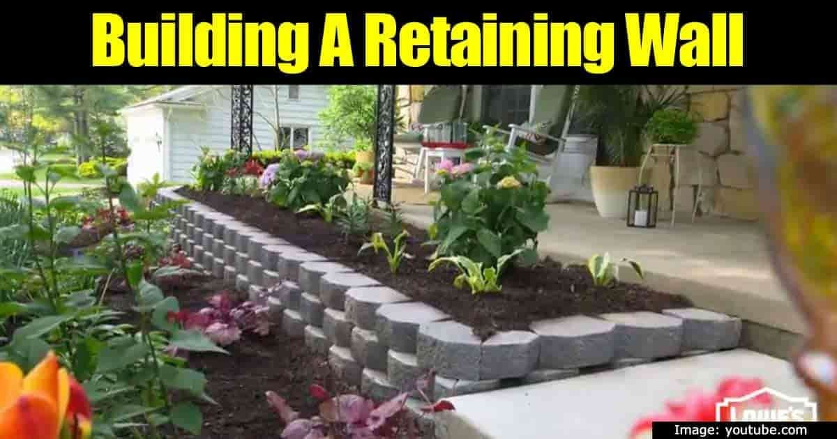 A Boring Landscape In The Backyard Or Around A Patio Can Come Alive With  The Addition Of An Attractive Block Retaining Wall.