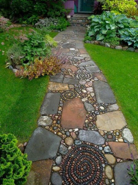 Garden Path Ideas courtesy of hometalk most popular this garden path Source Buzger