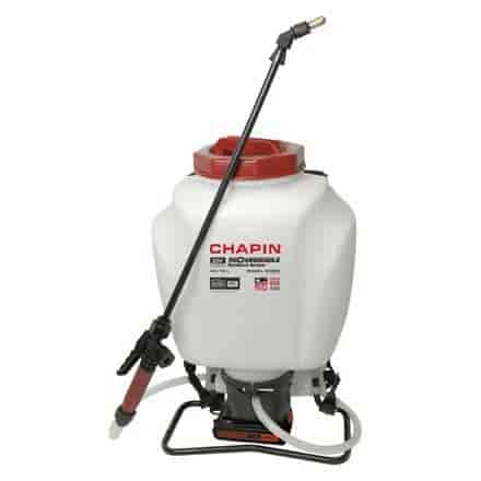Chapin 63985 4 gallon 20v wide-mouth backpack sprayer powered by black decker