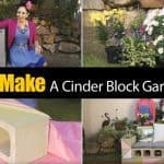 How To Make A Cinder Block Garden Bench