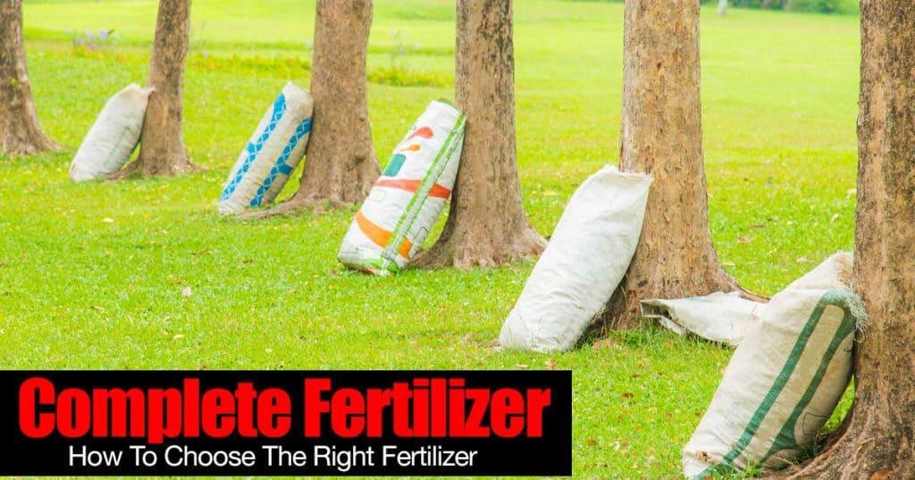 complete fertilizer
