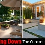 Modern Patio Design: How To Rip Out The Concrete Patio