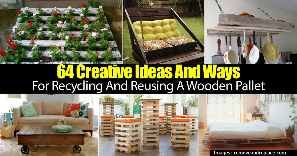 Creative Ideas Reusing Pallets 93020151801 Great Ideas