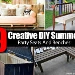9 Creative DIY Summer Party Seats And Benches