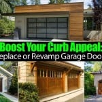 Boost Your Curb Appeal: Replace or Revamp Garage Doors