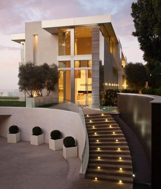 27 outdoor step lighting ideas that will amaze you for 9m frontage home designs