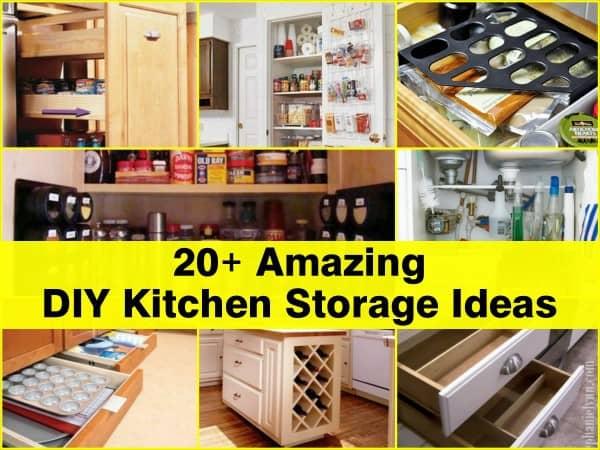 Diy Kitchen Storage Ideas 600x450