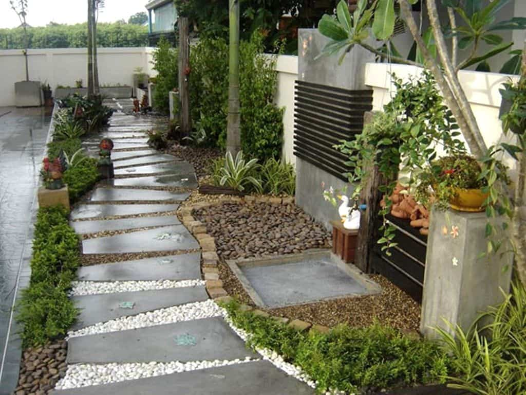17 garden path ideas great ways to create a garden walkway for Garden path designs
