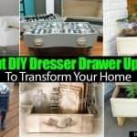 Brilliant DIY Dresser Drawer Upcycles To Transform Your Home