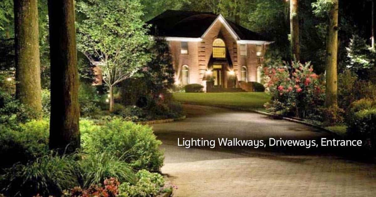 Outdoor lighting plant care today driveway lighting 08312015 mozeypictures Images