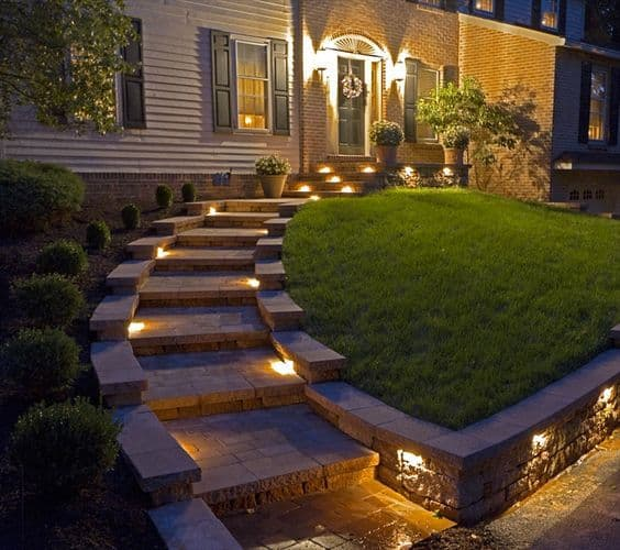 Landscape Lighting Ideas: 27 Outdoor Step Lighting Ideas That Will Amaze You