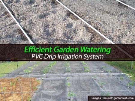 Effecient Garden Watering Pvc Drip Irrigation System