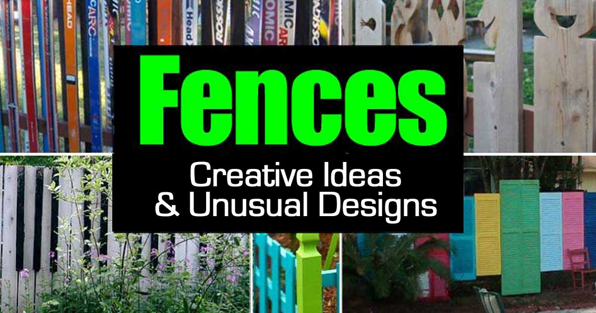 Fences Creative Ideas And Unusual Designs
